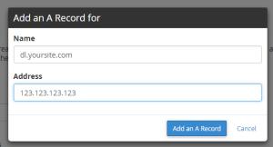اضافه کردن ای رکورد