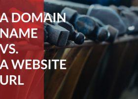 تفاوت نام دامنه با URL یک وب سایت