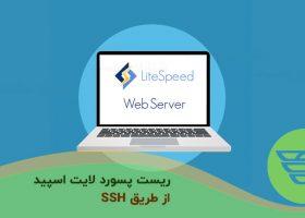 ریست پسورد لایت اسپید از طریق SSH