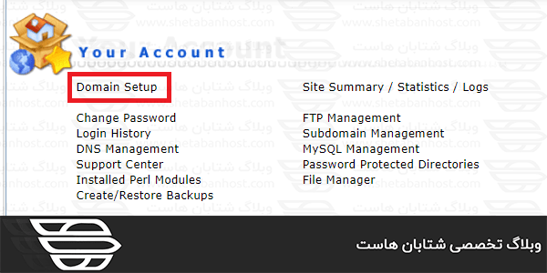 Rename the domain in the admin directory
