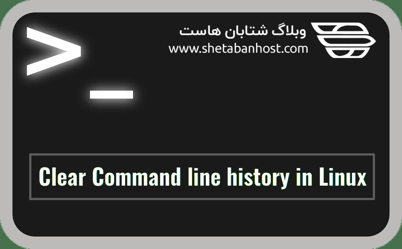 پاک کردن History لینوکس از طریق SSH