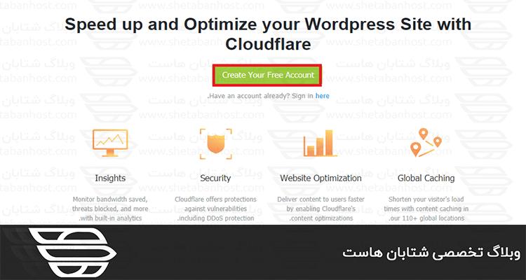 افزونه cloudflare برای وردپرس
