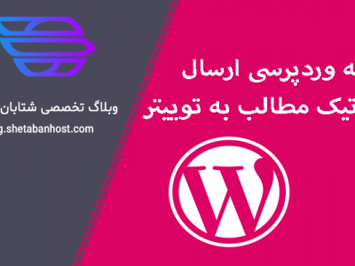 WordPress Plugin Automatically Post Content to Twitter
