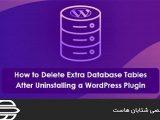 حذف جداول ديتابيس اضافي بعد از حذف افزونه هاي وردپرس