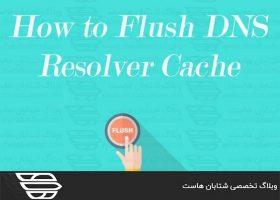 خالی کردن کش DNS در ویندوز