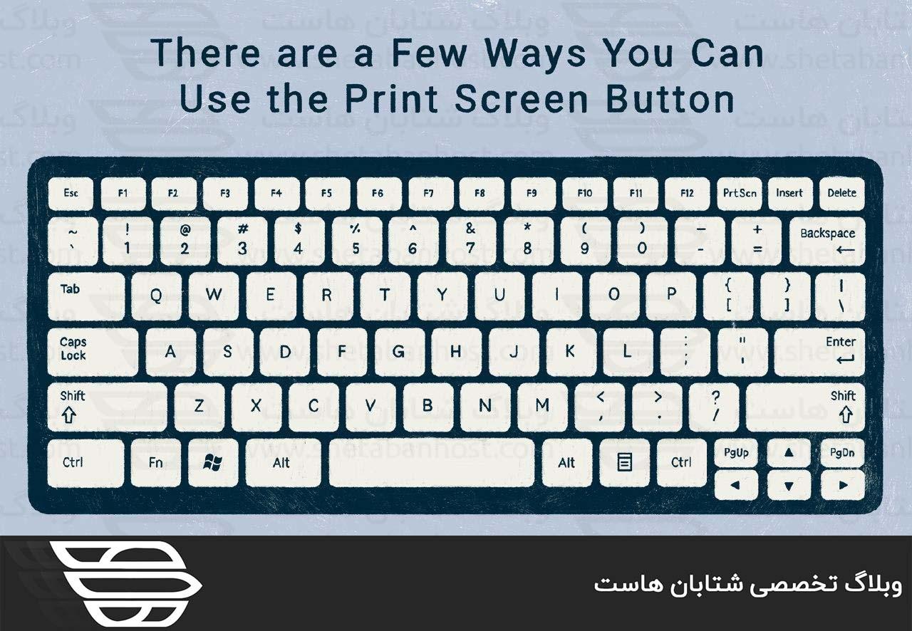 نحوه گرفتن اسکرین شات در کامپیوتر