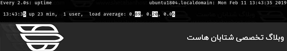 دستور Watch در لینوکس