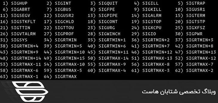 دستور Kill در لینوکس